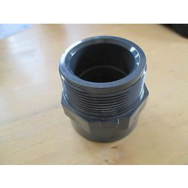"PVC Fitting Astore 2'' x 1 1/2  2"" AG  1 1/2 IG  Gewinde PUMEPNKOST S13/333"