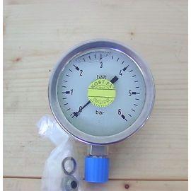 Manometer Amaturenbau GmbH RChG 63-3 0-6 bar Edelstahl KOST-EX  S13/63