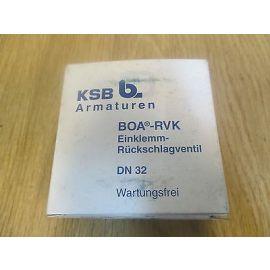 KSB BOA - RVK Einklemm - Rückschlagventil Rückschlagklappe  DN 32      S14/200