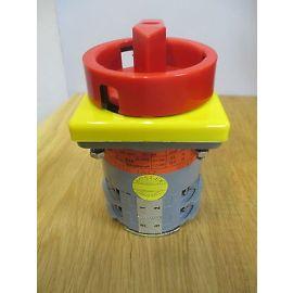 Einbau Hauptschalter  Typ: K32C1218 1A17 8014V  Schalter KOSTEX S14/215