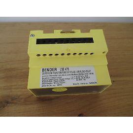 Bender LSE 470 Überstrom - Trafo - Temperatur - Relais Wächter KOST-EX S14/358