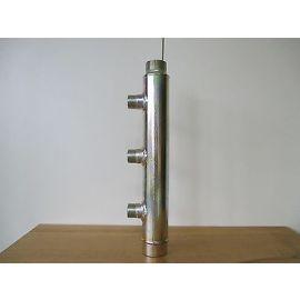 Heizkreisverteiler Verteiler Heizung Stahl 410mm 1 1/2 Zoll / 1 Zoll S15/54