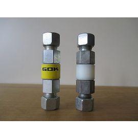 GOK GV Muffe 12x12 DIN geprüft Gasmuffe gerade isoliert Art.Nr07903-06 S14/345
