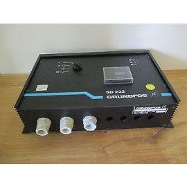 Grundfos Pumpensteuerung SD 222 V00 3 x 400 V   1 x 230 V  Pumpenkost S16/148