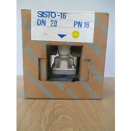 KSB Absperrventil Sisto -16 DN 20 Ventil Absperrhahn PN 16 Pumpenkost S16/48