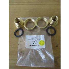 Grundfos Verschraubung Rotguss 1 1/4 auf 3/4    Nr. 96433909  KOST-EX S15/178