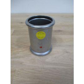 Sanha Press Muffe 54 mm Edelstahl - Stahl Press Fitting K17/152