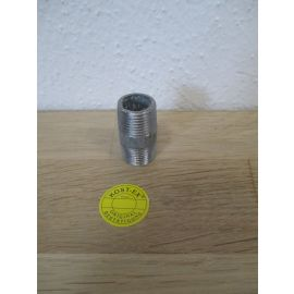 Doppelnippel 3 / 8 Zoll verzinkt Länge 30 mm Schraubfitting Fitting K17/294
