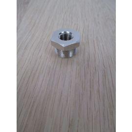Reduziernippel G 3/8 - 1/8 Zoll Messing Reduzierung Verschraubung K17/502