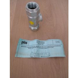 Gebo T - Verschraubung für Stahlrohr 3/4 Zoll für Trinkwasser geeinget K17/509