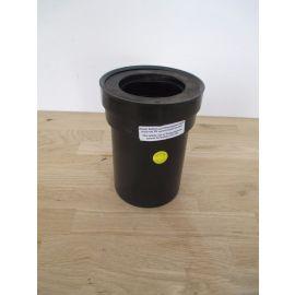 Dallmer Anschlussrohr für WC Stutzen D 110 mm L 180 mm Pumpenkost K17/6