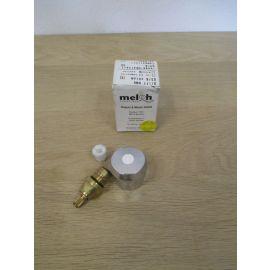 Meloh Griff HM6 neutral chrom Gewinde 3/8 Zoll Oberteil Armatur Wasser K17/695