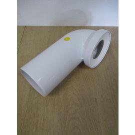 Sanit WC Anschlussbogen DN 100 90 °Grad weiss Bogen KOST-EX K17/716