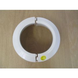 Sanit WC Rosette DN 100 Klapprosette hoch zweiteilig K17/717