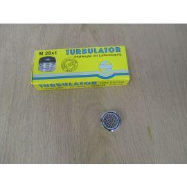 Turbulator Luftsprudler Strahlregler mit Luftansaugung M28 x1 DIN 52218 K17/762