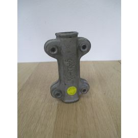 Dichtschelle 1/2 Zoll DN 15 Temperguss Abdichtschelle für Stahlrohr