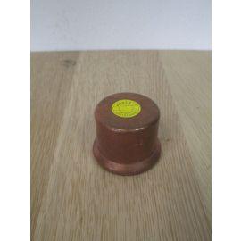 Kupfer Kappe 42 mm Press Fitting CU Sanha DVGW K17/886