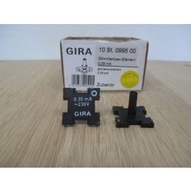 GIRA Glimmlampe Element für Schalter 0995 00 0,35 mA 230 Volt K17/888