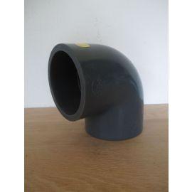 PVC Winkel 90 Grad 90 mm Bogen Klebemuffe Fitting K17/957