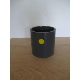 GF PVC Muffe 90 mm S6,3 PN16 Höhe 108 mm Kaltschweiß Muffe K17/959