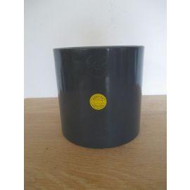 PVC Muffe 110 mm Höhe 130 mm Klebe Muffe Schweiß Muffe PUMPENKOST K17/960