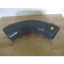 PVC Bogen 90° Rohr 110 mm Klebemuffe Kältetechnik Teichbau Fitting K17/963