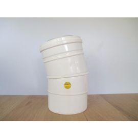 Abgasrohr 25 Grad Durchmesser außen 125 mm innen 80 mm Rohr Pumpenkost S15/97
